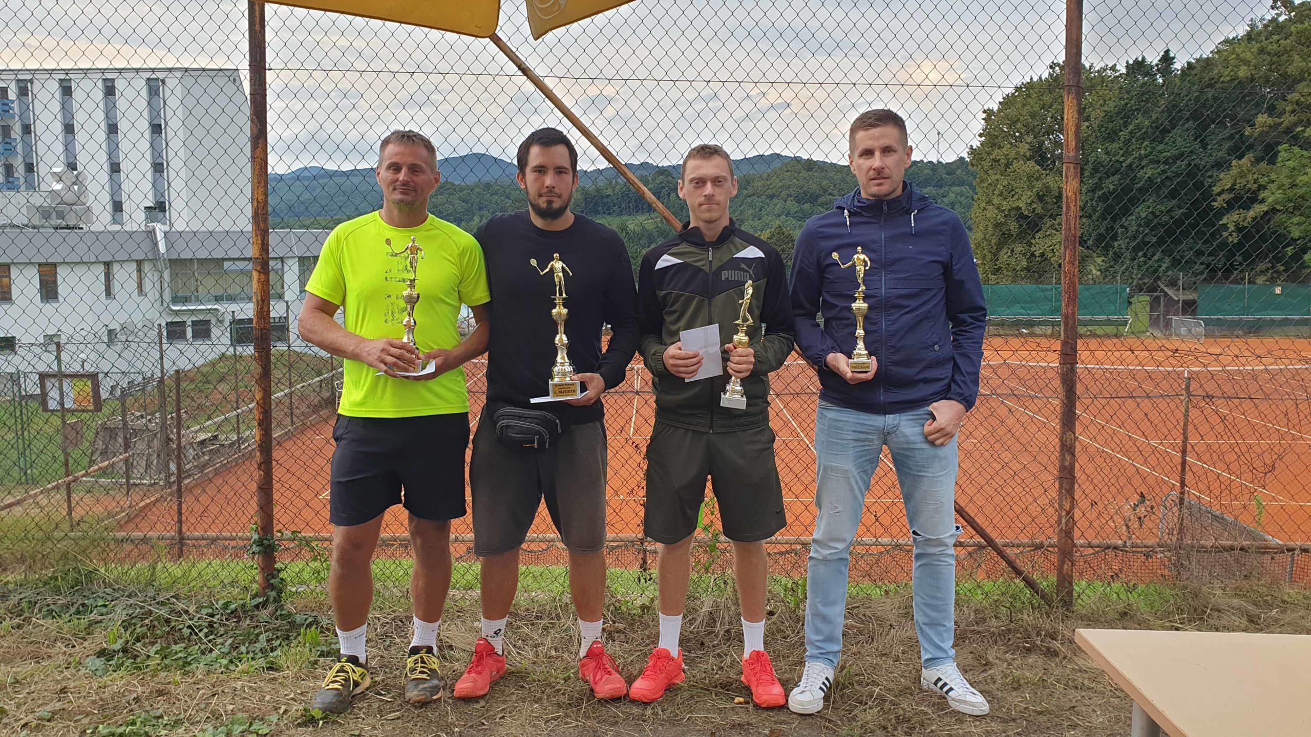 Održan pojedinačni turnir u tenisu